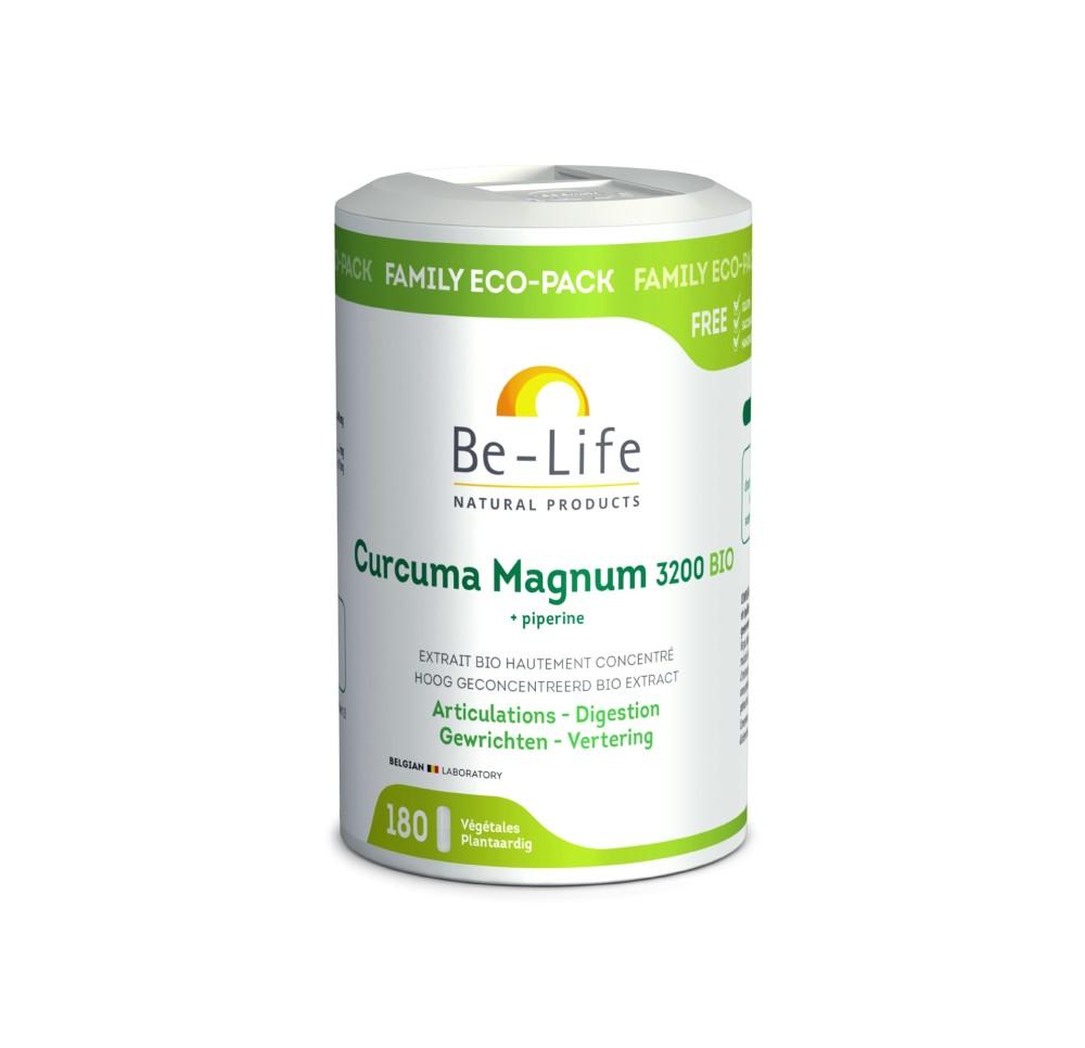 Be-Life Curcuma Magnum 3200 - 180 caps