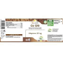 Be-Life Co-Q10 Ubiquinone 50 mg 60 capsules