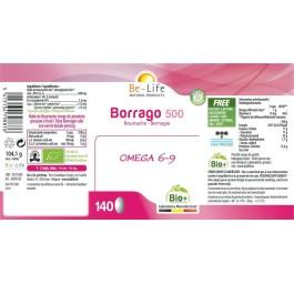 Be-Life Borrago 500 BIO 140 capsules
