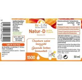 Be-Life Natur-D druppels 400 50 ml